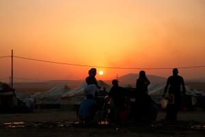 مخيم النازحين في الخازر