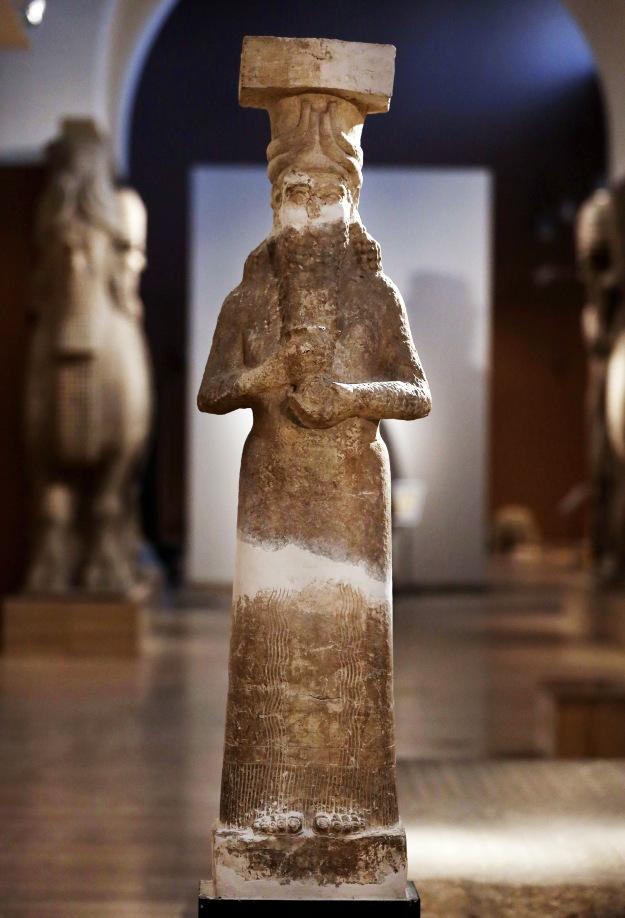 Mideast Iraq Imperiled Antiquities