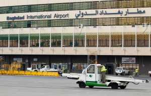 File photo of Baghdad International Airport