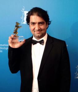SALIM SALMAN WITH THE CRYSTAL BEAR IN BERLIN FILM FESTIVAL